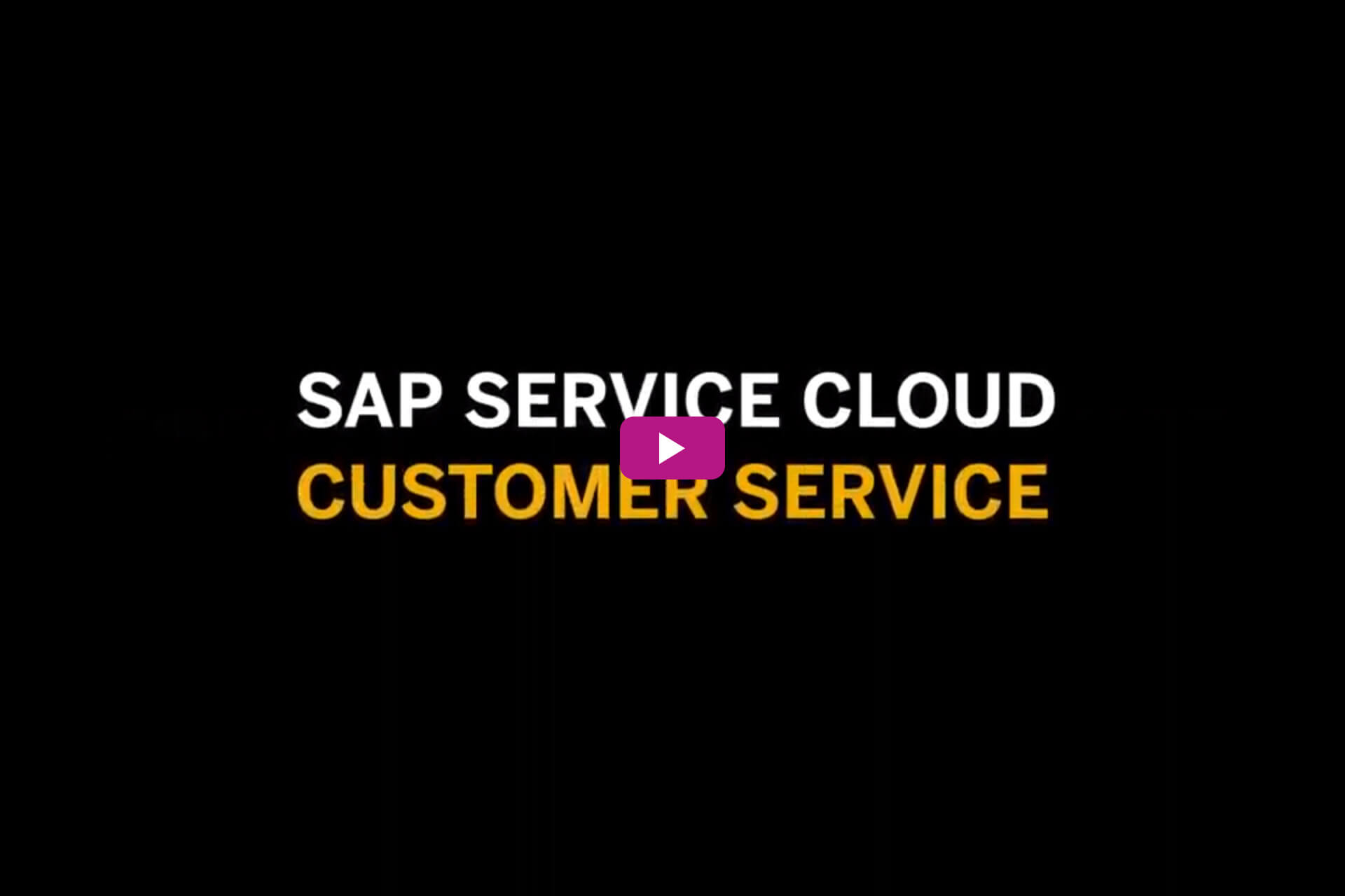 Vorschaubild für das Video Service Cloud - Customer Service